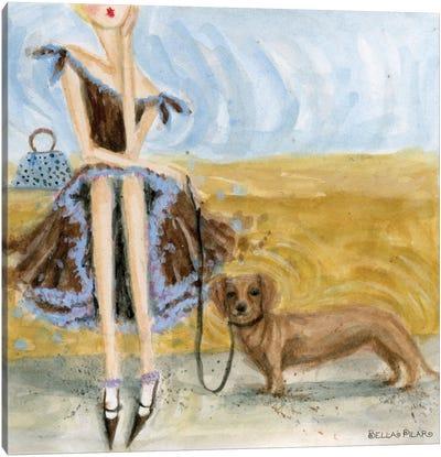 Dog Day: Dachshund  Canvas Print #BPR60