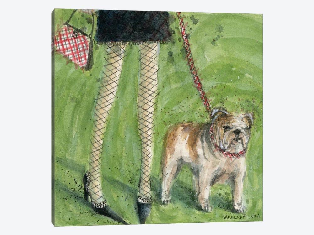 English Bulldog  by Bella Pilar 1-piece Canvas Art