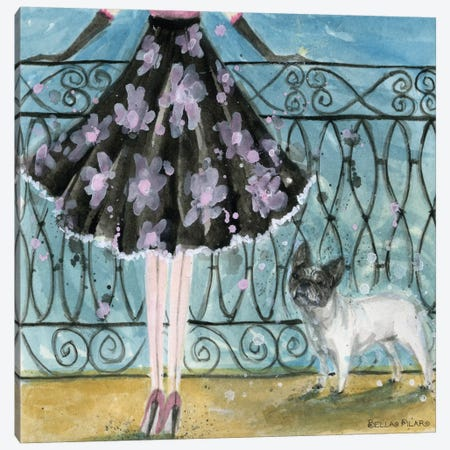 French Bulldog  Canvas Print #BPR63} by Bella Pilar Canvas Wall Art