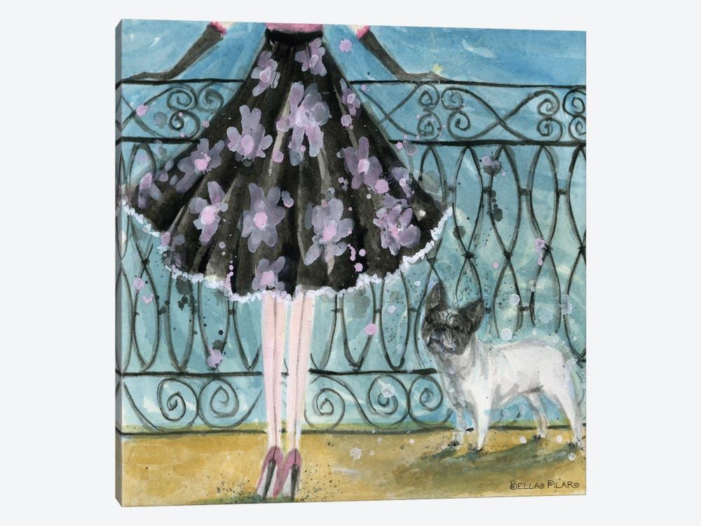 French Bulldog  by Bella Pilar 1-piece Art Print