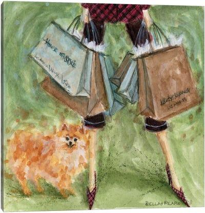 Dog Day: Pomeranian  Canvas Print #BPR64