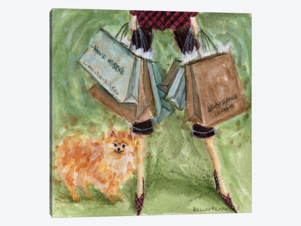 Pomeranian  by Bella Pilar 1-piece Canvas Art