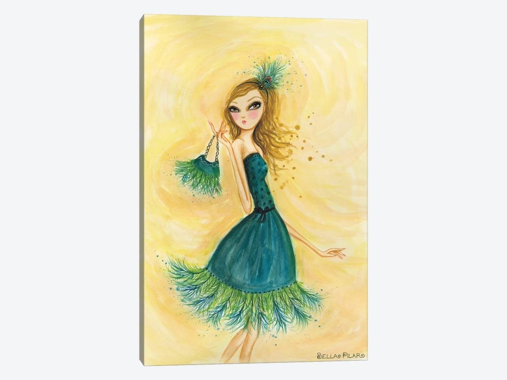 Feather Fancy by Bella Pilar 1-piece Art Print