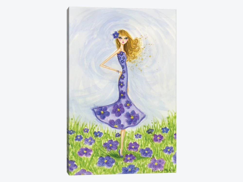 Violet by Bella Pilar 1-piece Art Print