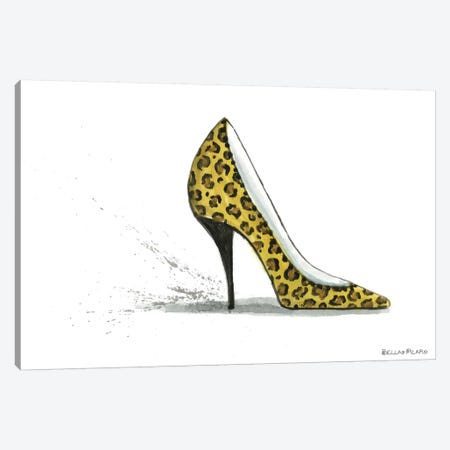 Leopard Accessories  Canvas Print #BPR88} by Bella Pilar Canvas Artwork