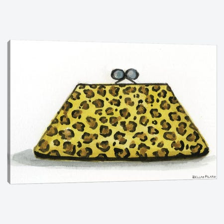 Leopard Accessories #2 Canvas Print #BPR89} by Bella Pilar Canvas Art