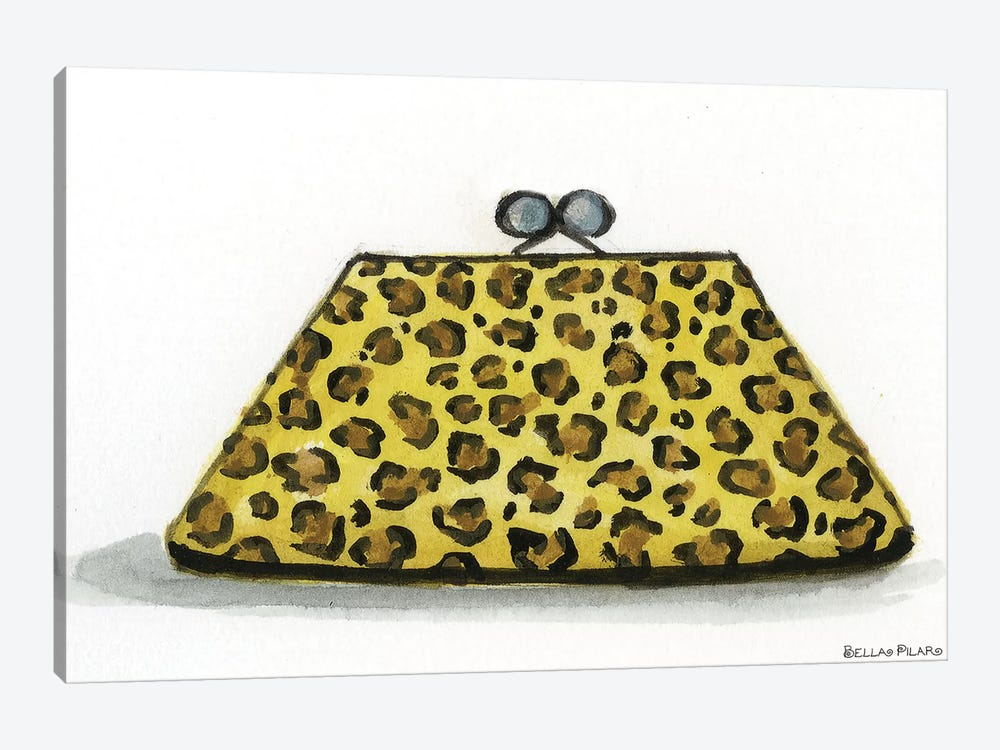 Leopard Accessories #2 1-piece Canvas Art Print