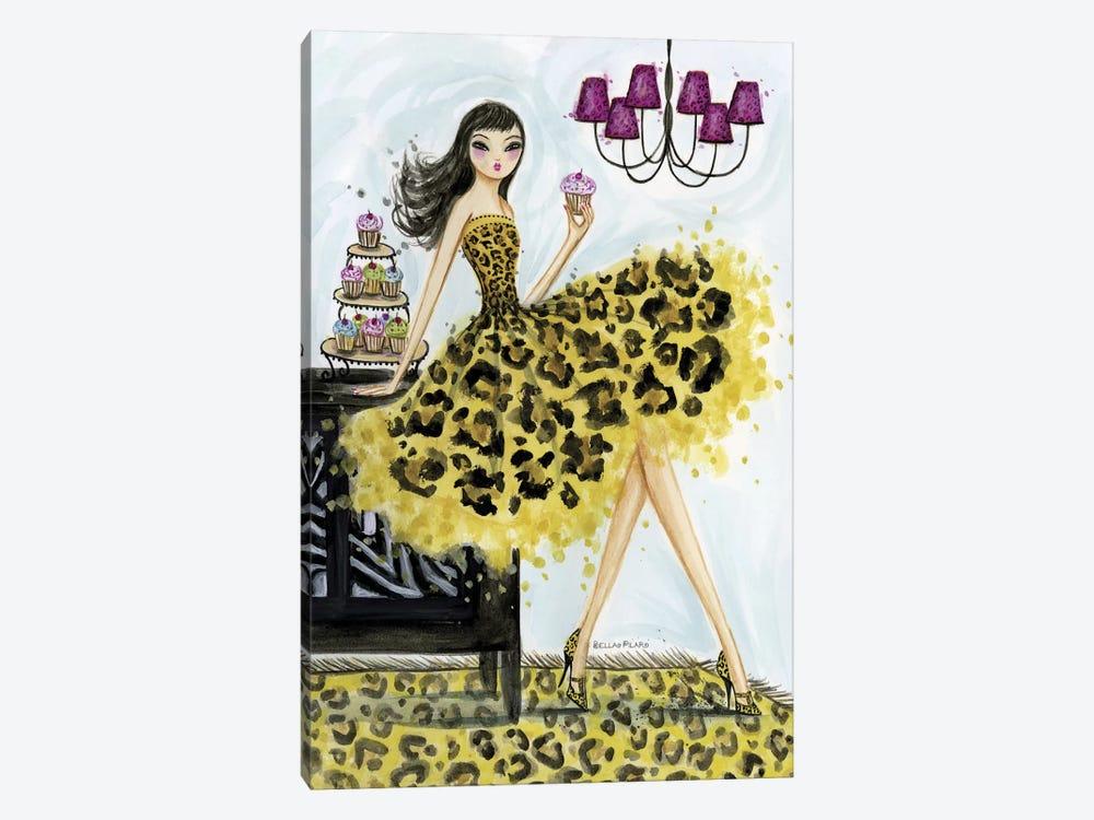 Leopard Cupcake by Bella Pilar 1-piece Canvas Art Print