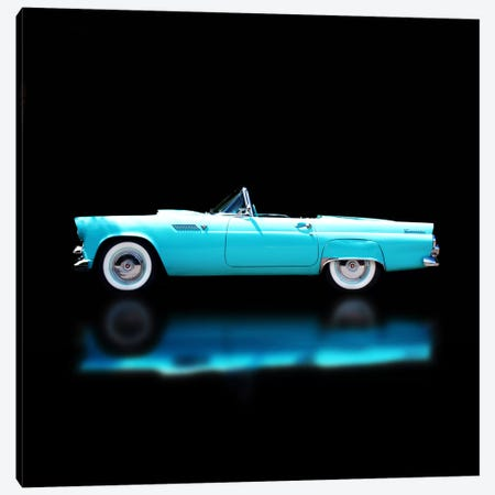 1956 Ford Thunderbird Convertible Canvas Print #BRA10} by Clive Branson Art Print