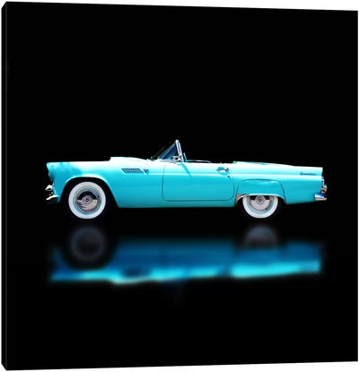 1956 Ford Thunderbird Convertible Canvas Art Print