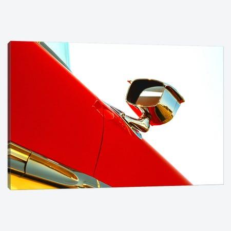 1958 Ford Fairlane 500, Mirror Canvas Print #BRA12} by Clive Branson Canvas Art Print