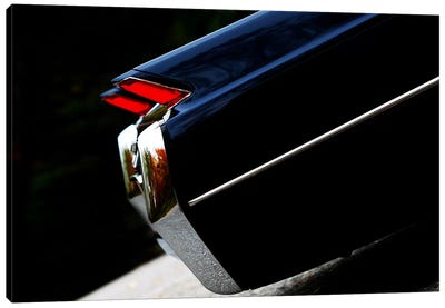 1964 Cadillac Coupe De Ville, Rear Side View Canvas Art Print