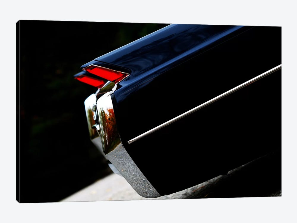 1964 Cadillac Coupe De Ville, Rear Side View by Clive Branson 1-piece Canvas Print