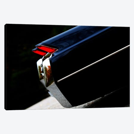 1964 Cadillac Coupe De Ville, Rear Side View Canvas Print #BRA15} by Clive Branson Canvas Wall Art
