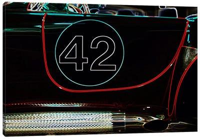 1965 Shelby Cobra 427 Convertible #42 Canvas Art Print