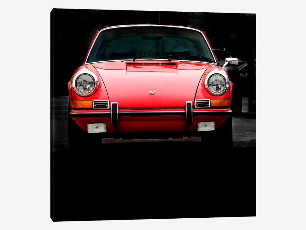 1970 Porsche 911 Targa by Clive Branson 1-piece Canvas Wall Art