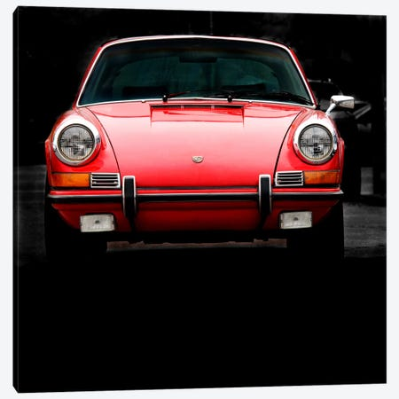1970 Porsche 911 Targa Canvas Print #BRA21} by Clive Branson Canvas Art