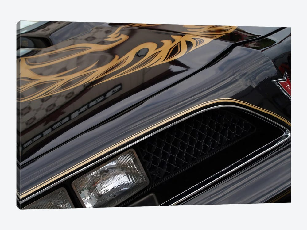 1978 Pontiac Trans Am, Front End Detail by Clive Branson 1-piece Canvas Wall Art