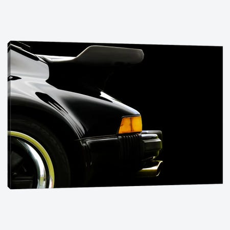 1978 Porsche 930 Back Wing 3-Piece Canvas #BRA24} by Clive Branson Canvas Print