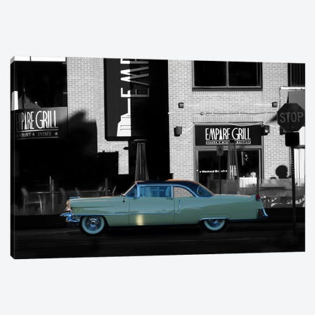 1955 Cadillac Coupe De Ville Canvas Print #BRA7} by Clive Branson Canvas Artwork