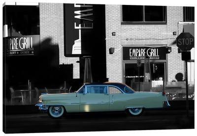 1955 Cadillac Coupe De Ville Canvas Art Print