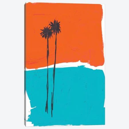 PS Palms Canvas Print #BRB19} by Bronwyn Baker Canvas Art