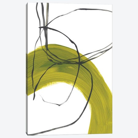 Citron Fusion No. 1 Canvas Print #BRB1} by Bronwyn Baker Canvas Artwork