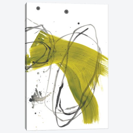 Citron Fusion No. 2 Canvas Print #BRB2} by Bronwyn Baker Canvas Artwork
