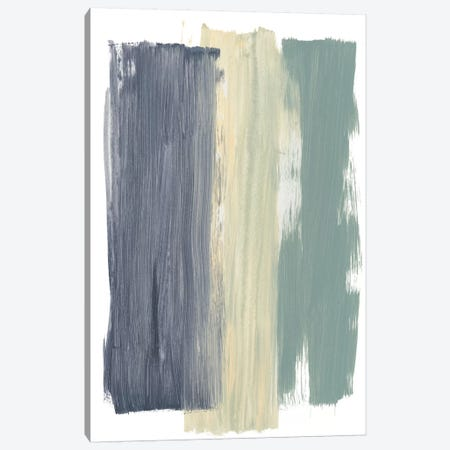 Striped Abstract Canvas Print #BRB9} by Bronwyn Baker Canvas Art