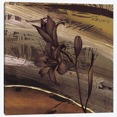Fleurs d'or I Canvas Print #BRC3} by Anne Brochard Canvas Art Print