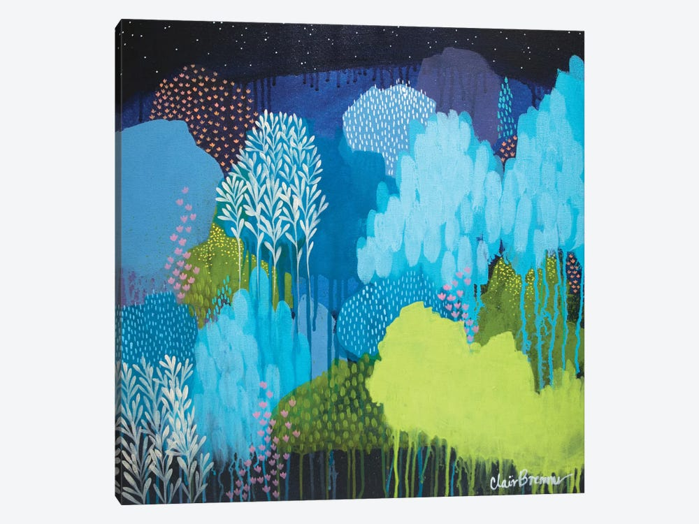 Lifeforms by Clair Bremner 1-piece Canvas Art Print