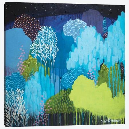Lifeforms Canvas Print #BRE14} by Clair Bremner Canvas Art