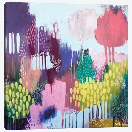 Lyrebird Gully Canvas Print #BRE15} by Clair Bremner Canvas Artwork