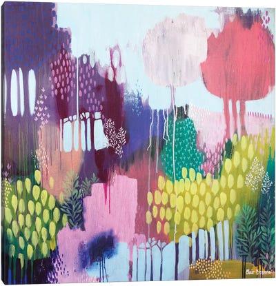 Lyrebird Gully Canvas Art Print