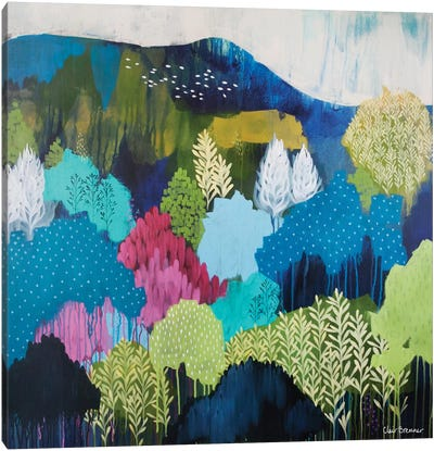 Mount Buninyong Canvas Art Print