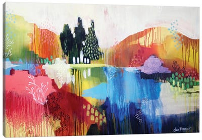 Mountian Sound Canvas Art Print