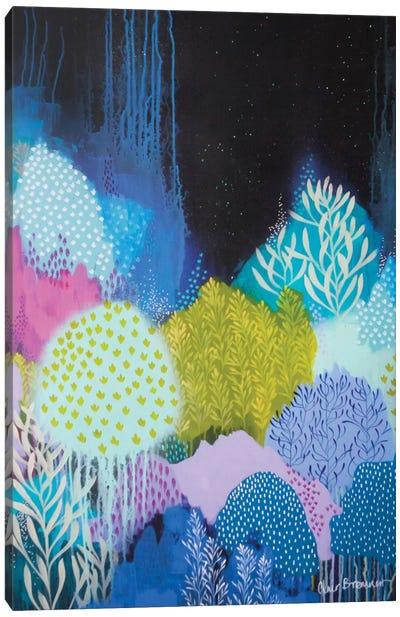 Night Blossoms I Canvas Art Print