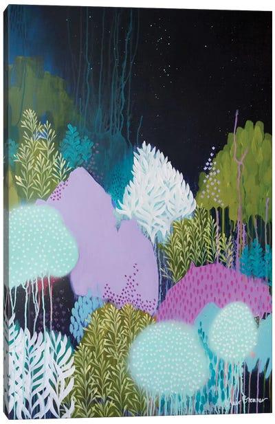Night Blossoms II Canvas Print #BRE19