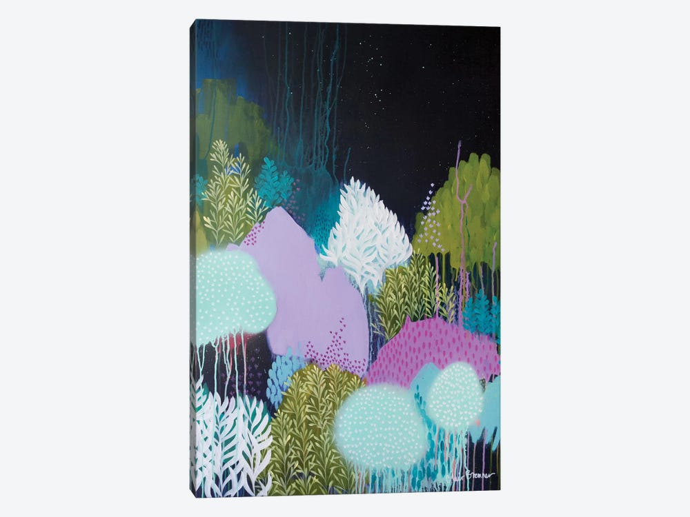 Night Blossoms II by Clair Bremner 1-piece Canvas Artwork