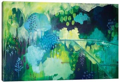 On A Hill Canvas Print #BRE21
