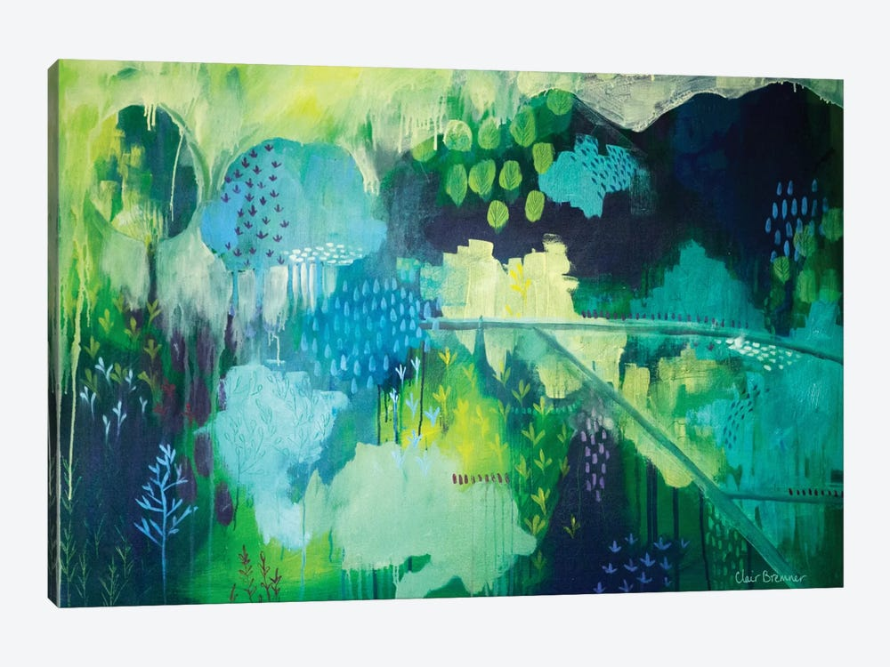 On A Hill by Clair Bremner 1-piece Canvas Art Print