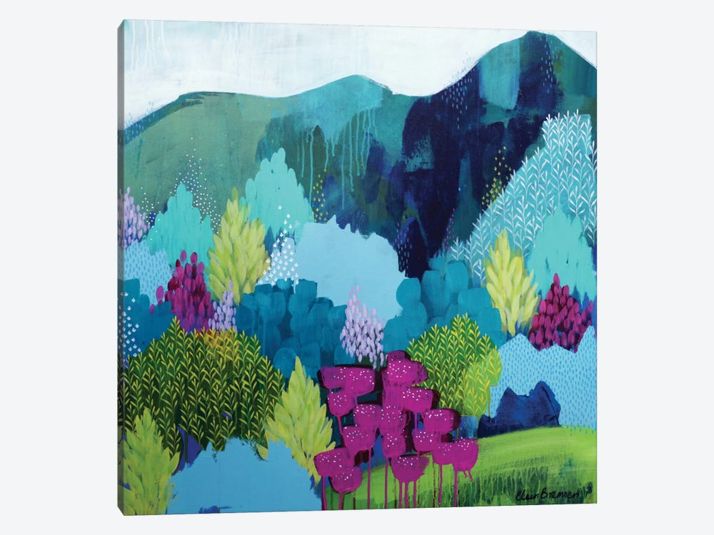 On The Way by Clair Bremner 1-piece Canvas Artwork