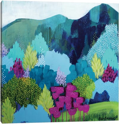 On The Way Canvas Art Print