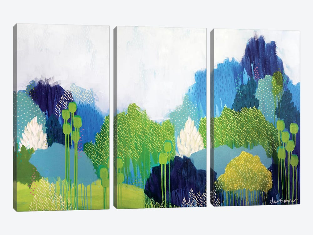Passing Through by Clair Bremner 3-piece Canvas Print