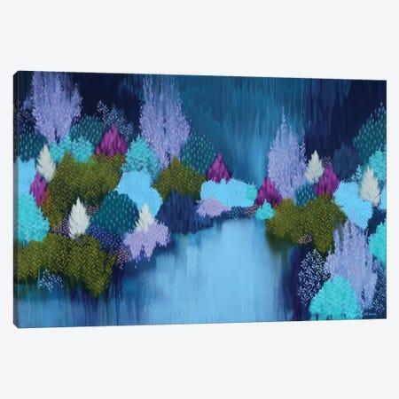 Running Wild Canvas Print #BRE24} by Clair Bremner Canvas Print