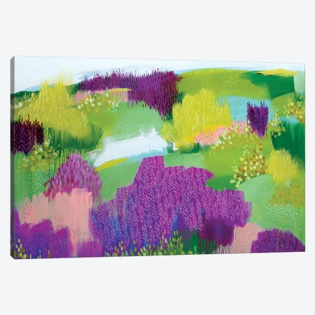 Shades Of Summer Canvas Print #BRE25} by Clair Bremner Art Print