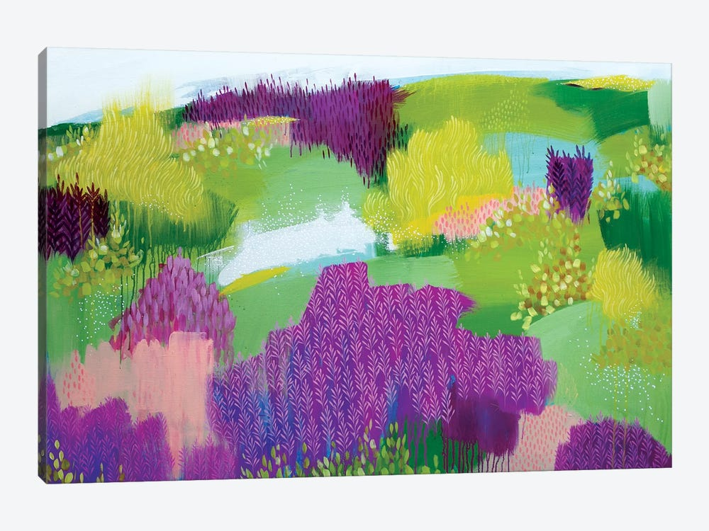 Shades Of Summer by Clair Bremner 1-piece Art Print