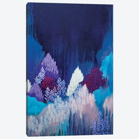 Still The Night Canvas Print #BRE26} by Clair Bremner Art Print