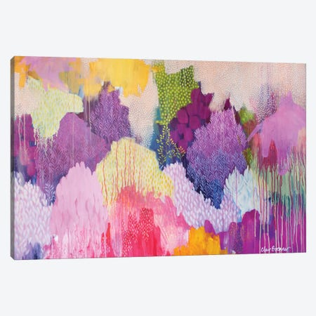 Summer Haze Canvas Print #BRE27} by Clair Bremner Art Print