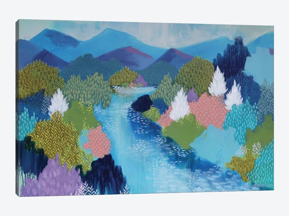 Summer Hills by Clair Bremner 1-piece Canvas Wall Art